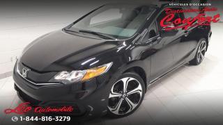 Used 2015 Honda Civic LX 2 portes CVT for sale in Chicoutimi, QC