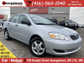 Used 2007 Toyota Corolla CE   ONLY 30KMS   PWR GRP   AUTO   A/C   CRUISE for sale in Georgetown, ON