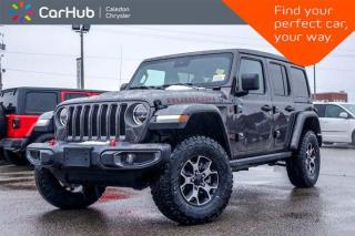 New 2020 Jeep Wrangler Unlimited New Rubicon 4x4 Sky Power Soft Top Navigation Backup Camera Bluetooth Blind Spot LED Lighting 17