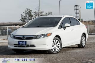 Used 2012 Honda Civic Auto/Air/Loaded Clean Carfax Certified Finance Wow for sale in Bolton, ON