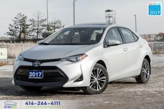 Used 2017 Toyota Corolla LE Sunroof + RearCam Blind-Spot Certified Finance for sale in Bolton, ON