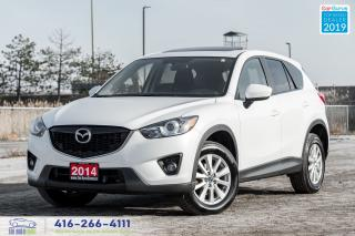 Used 2014 Mazda CX-5 AWD Sunroof Rear-Cam Certified Serviced Financing for sale in Bolton, ON