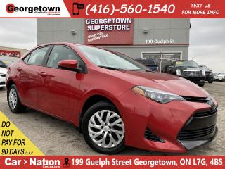 Used 2018 Toyota Corolla SE   HTD SEATS   BU CAMERA   USB AUX INPUT   B/T for sale in Georgetown, ON