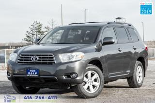 Used 2008 Toyota Highlander AWD V6 7-Seat Rear-Cam Certified Serviced Spotless for sale in Bolton, ON