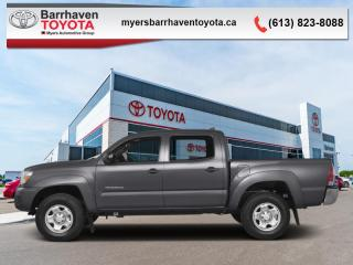 Used 2015 Toyota Tacoma 4WD DBL CAB V6  - Bluetooth - $218 B/W for sale in Ottawa, ON