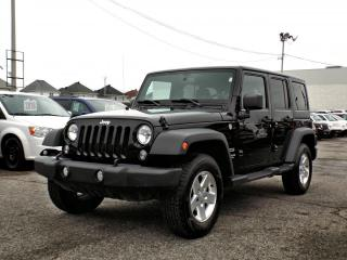 Used 2014 Jeep Wrangler SPORT * 2 TOITS * A/C * for sale in Brossard, QC
