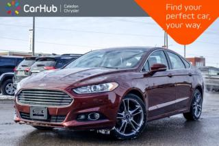 Used 2015 Ford Fusion Titanium AWD|Navi|Sunroof|Backup Cam|Bluetooth|Leather|R-Start|Heated Front Seats|18