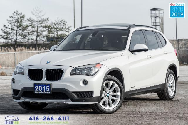 2015 BMW X1 AWD|Navi|360 Degree Camera|Pano. Roof|Leather