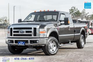 Used 2008 Ford F-250 4WD DIESEL XLT CERTIFIED SERVICED SUPER DUTY 6SEAT for sale in Bolton, ON