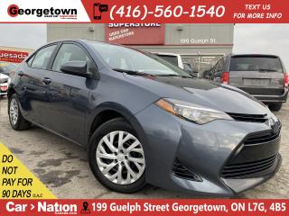 Used 2018 Toyota Corolla SE | HTD SEATS | BU CAMERA | USB AUX INPUT | B/T for sale in Georgetown, ON