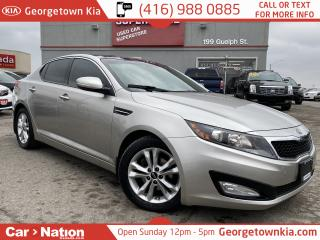 Used 2012 Kia Optima EX+ | PANO SUNROOF | LEATHER | B/U CAM | for sale in Georgetown, ON