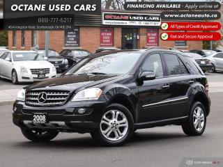 Used 2008 Mercedes-Benz ML-Class ML 320! Accident-Free! One Owner! Ontario Vehicle! for sale in Scarborough, ON