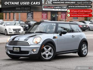 Used 2010 MINI Cooper Classic Leather! Accident Free! Certified! for sale in Scarborough, ON