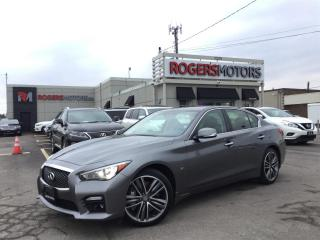 Used 2015 Infiniti Q50 SPORT AWD - NAVI - SUNROOF - REVERSE CAM for sale in Oakville, ON