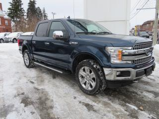 Used 2018 Ford F-150 LARIAT 4WD SUPERCREW 5.5' for sale in Hagersville, ON