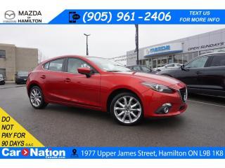 Used 2016 Mazda MAZDA3 GT   LEATHER   SUNROOF   NAV   BOSE   REAR CAM for sale in Hamilton, ON