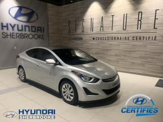 Used 2015 Hyundai Elantra GL+A/C+BANCS CHAUFF+BLUETOOTH for sale in Sherbrooke, QC