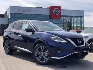 New 2020 Nissan Murano Platinum DEMO *NO CHARGE WINTER READY PKG* for sale in Midland, ON