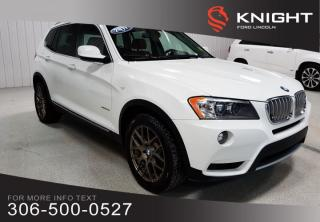 Used 2011 BMW X3 35i AWD for sale in Moose Jaw, SK