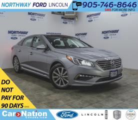 Used 2016 Hyundai Sonata Limited | NAV | LEATHER | PANOROOF | PUSH START | for sale in Brantford, ON