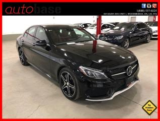 Used 2016 Mercedes-Benz C-Class C450 AMG 4MATIC DISTRONIC PREMIUM CARBON FIBRE RED INT! for sale in Vaughan, ON
