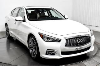 Used 2015 Infiniti Q50 LIMITED AWD CUIR TOIT MAGS NAV for sale in Île-Perrot, QC