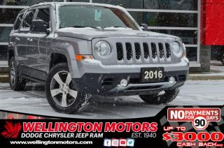 Used 2016 Jeep Patriot High Altitude- 4x4 - Leather - Warranty !! for sale in Guelph, ON