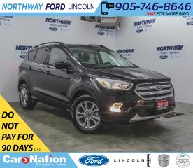 Used 2018 Ford Escape SE | HTD SEATS | BACKUP CAM | BLUETOOTH | AUX | for sale in Brantford, ON