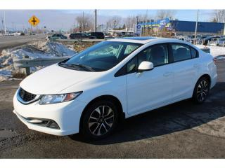 Used 2013 Honda Civic MAN. EX A/C CRUISE TOIT OUVRANT!!! for sale in Ste-Catherine, QC