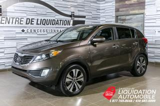 Used 2012 Kia Sportage EX LUXURY+AWD for sale in Laval, QC