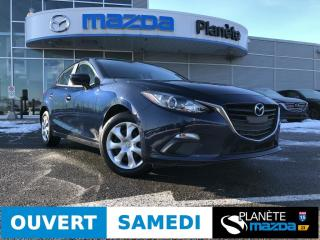 Used 2016 Mazda MAZDA3 GX AUTO AIR DÉMARREUR BLUETOOTH for sale in Mascouche, QC