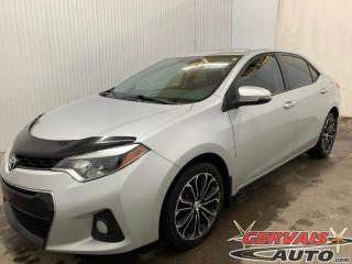 Used 2014 Toyota Corolla S Cuir/Tissus Toit ouvrant MAGS Caméra de recul for sale in Shawinigan, QC