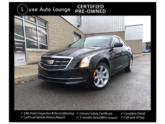 2015 Cadillac ATS Turbo AWD BOSE AUDIO, BACK-UP CAMERA, HEATED SEATS