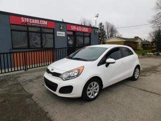 Used 2014 Kia Rio LX|AUX/USB|CRUISE|AC for sale in St. Thomas, ON