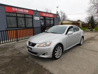 Used 2008 Lexus IS 250 Base|ALL WHEEL DRIVE|LEATHER|CRUSIE CONTROL for sale in St. Thomas, ON