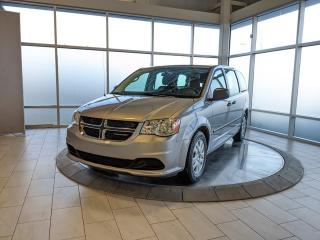 Used 2016 Dodge Grand Caravan Canada Value Package - One Owner! Accident Free Carfax! for sale in Edmonton, AB