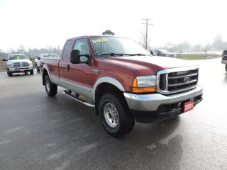 Used 2001 Ford F-250 XLT. 7.3L diesel. 4X4. Only 153000 km's for sale in Gorrie, ON