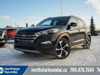 Used 2017 Hyundai Tucson LTD LEATHER/PANOROOF/NAV/HEATEDSTEERING for sale in Edmonton, AB