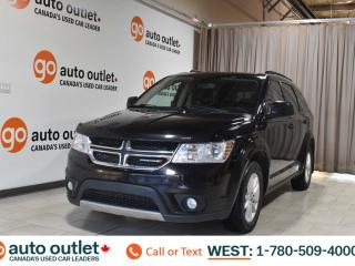 Used 2015 Dodge Journey Sxt, 2.4L I4, Fwd, Third row 7 passenger seating, Cloth seats for sale in Edmonton, AB