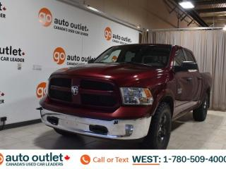 Used 2017 RAM 1500 Outdoorsman, 3.6L V6, 4wd, Short box, Crew cab, Cloth seats, Backup camera, Bluetooth for sale in Edmonton, AB