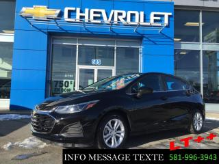 Used 2019 Chevrolet Cruze Hatchback LT++, 0% D'INTERET for sale in Ste-Marie, QC