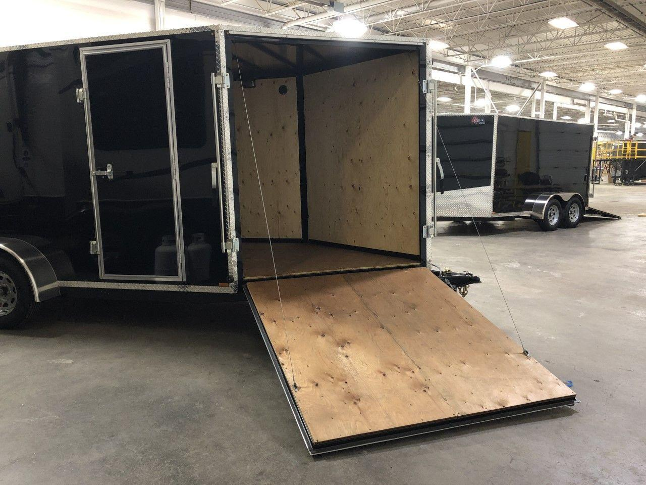 2020 Canadian Trailer Company 7x14 V-Nose Cargo Tailer