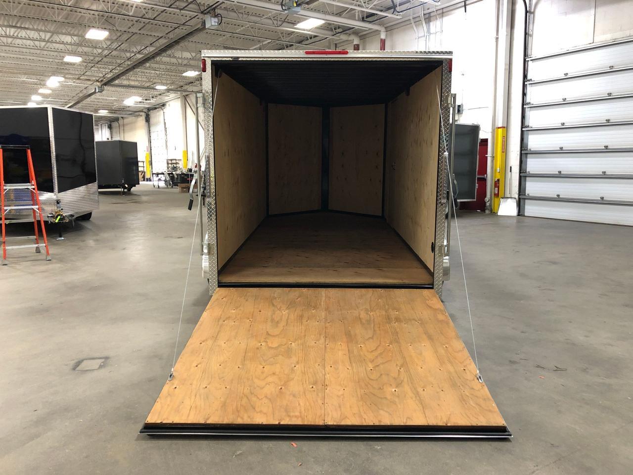 2020 Canadian Trailer Company 7x12 Flat Nose Cargo Trailer