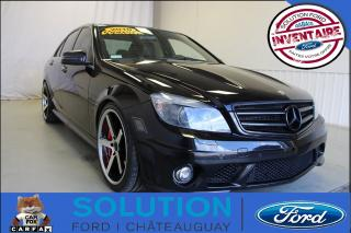 Used 2010 Mercedes-Benz C-Class C 63 AMG * 457 HP + FINANCEMENT DISPONIBLE for sale in Châteauguay, QC