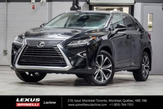 Used 2016 Lexus RX 350 LUXURY AWD; CUIR TOIT GPS ANGLES MORTS MAGS 20'' NAVIGATION - MONITEUR ANGLES MORTS - SONAR DE STATIONNEMENT - VOLANT CHAUFFANT - MAGS LEXUS 20'' for sale in Lachine, QC