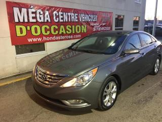 Used 2012 Hyundai Sonata Limited CUIR TOIT for sale in Laval, QC