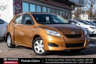 Used 2010 Toyota Matrix B PKG GROUPE ÉLECTRIQUE for sale in Pointe-Claire, QC