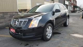 Used 2015 Cadillac SRX Luxury AWD-Navigation-Pan Sunroof-Heated Leather for sale in Tilbury, ON