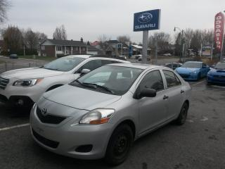 Used 2010 Toyota Yaris MANUELLE SEDAN Pneus Hiver for sale in Repentigny, QC