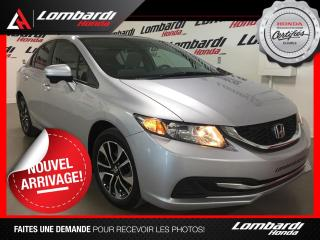 Used 2015 Honda Civic EX| BLUETOOTH| TOIT for sale in Montréal, QC